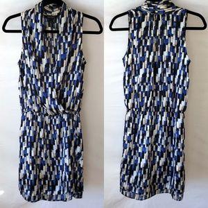 White House Black Market Wrap-Style Dress Size 4